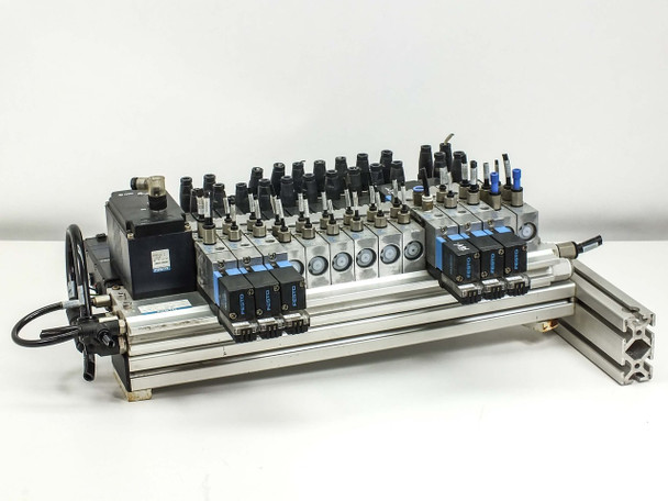 Festo Bus Interface Unit and Mounting Plate (Solenoid Valves)
