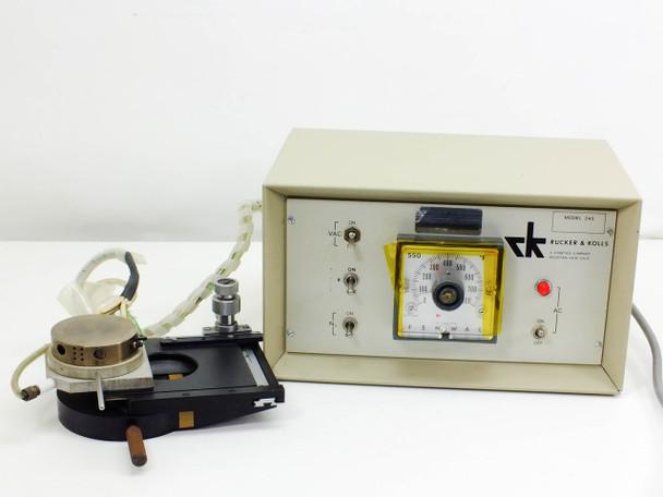 Rucker & Kolls Hot Chuck Controller Ceramic Head & Fenwal 550 0-800?F Model 245