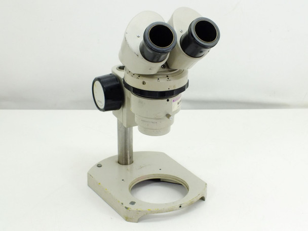 Nikon Microscope with Focus Block and Stand 0.8x-4.0x