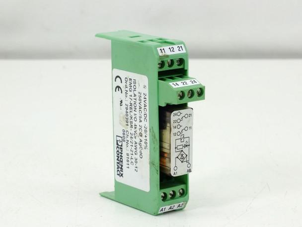 Phoenix Contact 2940391 Relay Module EMG 17-REL/KSR- 24/21-21-LC Input 24V AC/DC