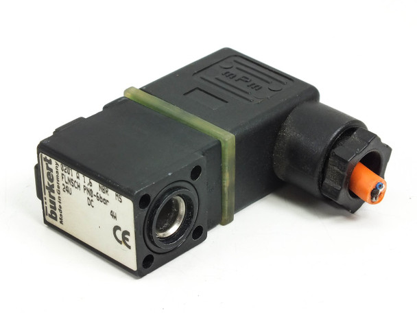 Burkert 2/2-Way Miniature Solenoid for Valve. (0201 A)