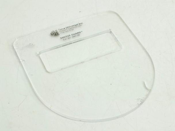 Terra Universal 1601-50 Microscope Sneeze Guard Breath Shield