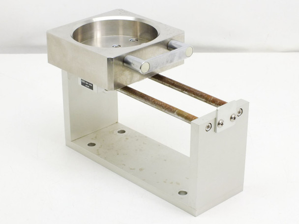 Stainless Steele Sliding Tray 10cm Diameter with NK Pillow Block Sliders