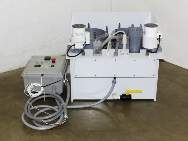 Process Control HDPE Mixing Station MetPro ZXD Centrifugal Pump (Electroplating)