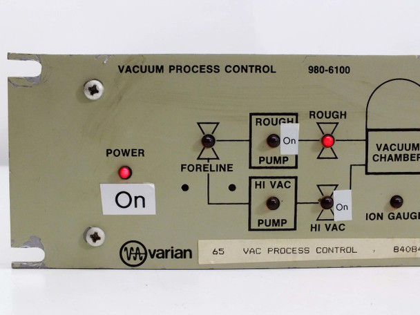 Varian 980-6100 Vacuum Process Control Automatic Valve Sequencer