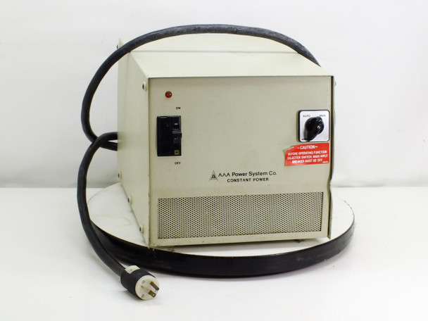 AAA Power Systems C3002A0100T1 2.0 KVA, 120V, 16.6A Constant Power 3 Transformer
