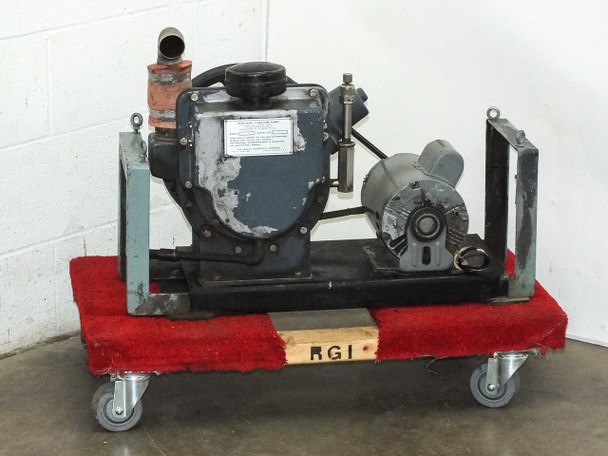 Welch R 1397 Belt-Drive Duo Seal Vacuum Pump 3/4 HP 115/208~230 Volt AC Motor