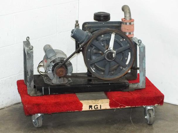 Welch R 1397 Belt-Drive Duo Seal Vacuum Pump 3/4 HP 115/208~230 Volt AC Motor