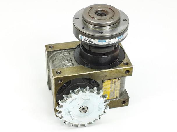Sankyo Torque Limiter w/ Sandex Oscillating Drive 4.5E 02067R-L1A6 & Gear