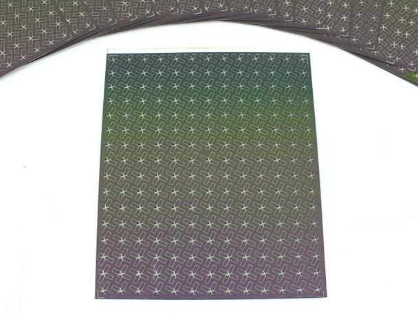 Nanosolar NanoCell 15,600 Watt Carton of 6000 2.6 Watt CIGS Flexible Aluminum Solar Cells