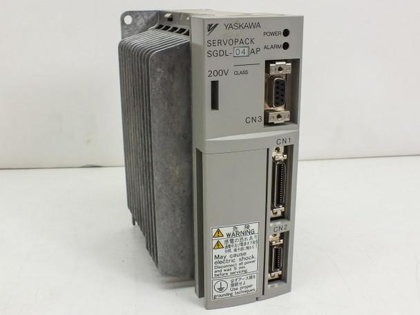 Yaskawa SGDL-04AP 400W Servopack Servo Drive Controller 200VAC 0.27HP