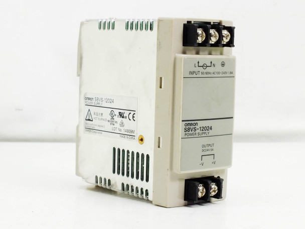 Omron Swith Mode Power Supply 24VDC 120W (S8VS-12024)