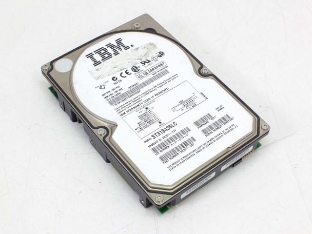 IBM 18.2GB 7200 RPM SCSI SCA 80-Pin Hard Drive HDD 19K1463 ST318436LC 19K1462