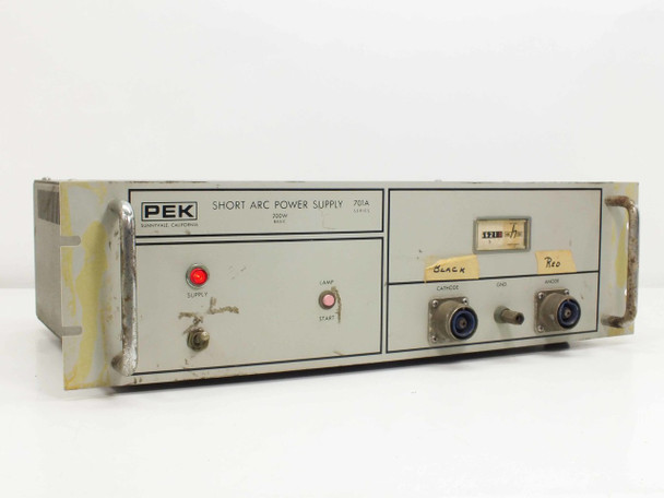 PEK 701A-1 Short Arc Power Supply 200W Basic 701A Series - TESTED GOOD