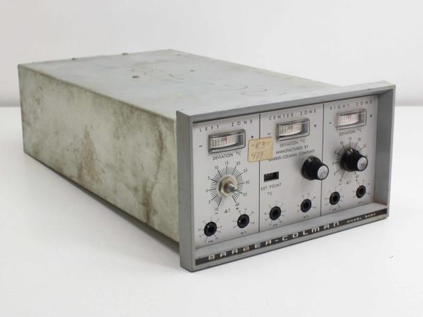 Barber-Colman 3 Zone Tube Furnace Temperature Control Unit 545C-1930-1