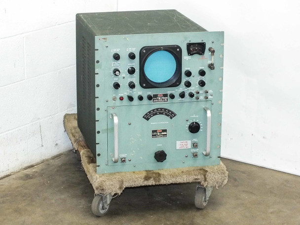 Polarad STU-2 BW RF Tuning Unit 910-4560 MC with DU-2 Display - AS IS