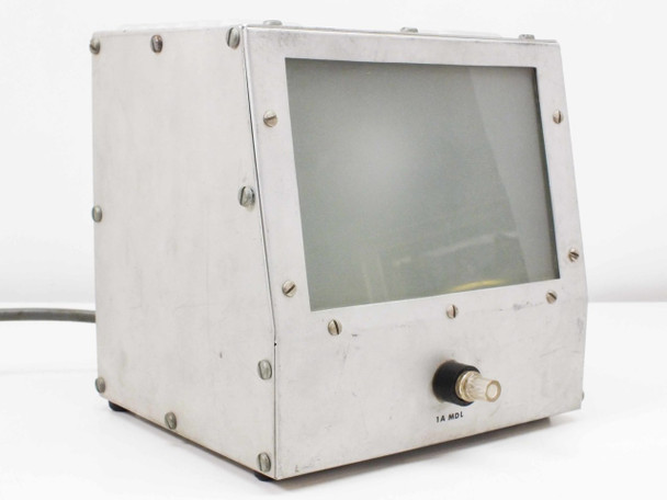 "Stainless Steel 6.5"" x 4.5"" Adjustable Voltage Light Box 100VAC"