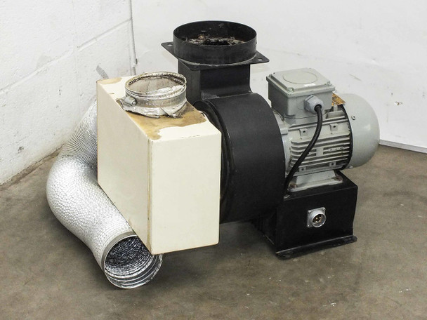 Ciro 0.5 HP Motor with Squirrel Cage Blower Fan Attachment 220-460V 3-Phase QS F