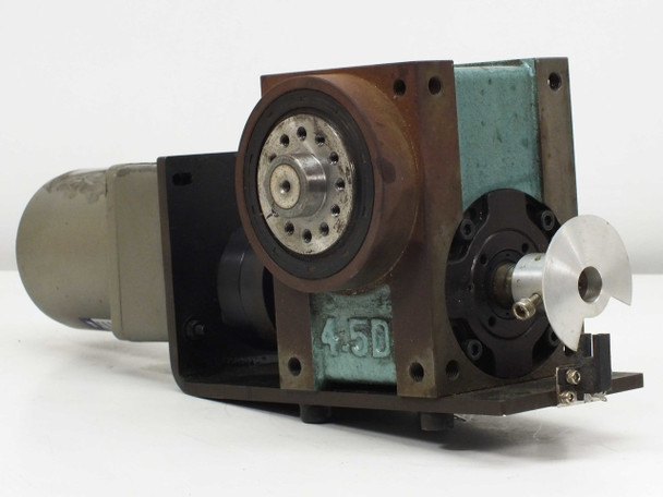 Tung Lee Electrical Reversible Motor BD-2AA-002-P01-0 Indexing Drive 4RK25GN-C
