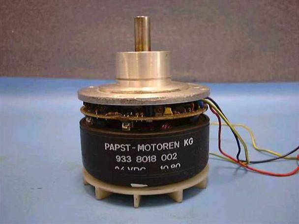 Papst Motoren 24 VDC 1.82 Variodrive Motor 933 8018 004 NK 24 VDC Motor