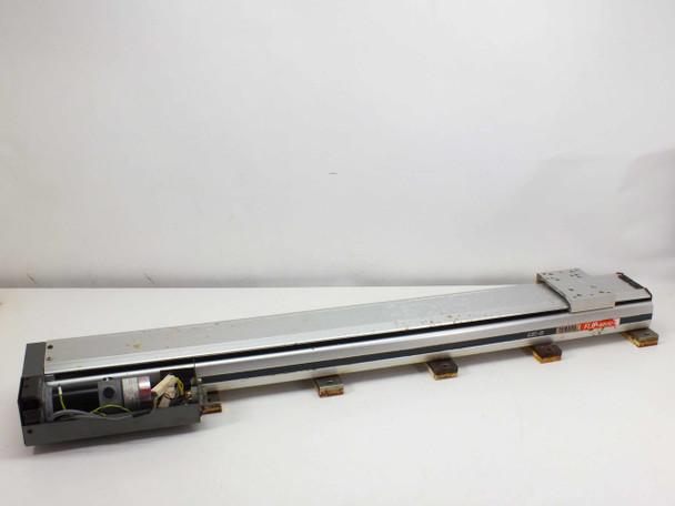 Yamaha LS1BL-850Flip-Series linear slide robot with drive motor LSi-B