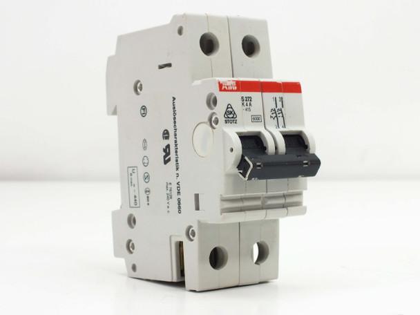 ABB S272-K4A Circuit Breaker 2POLE 415VAC