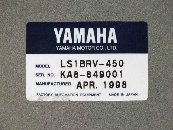 Yamaha FLIP-Series Linear Drive 450mm Stroke LS1BRV-450