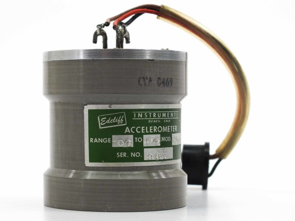 Edcliff Instruments Linear Accelerometer 0 - 17.5 G  41831