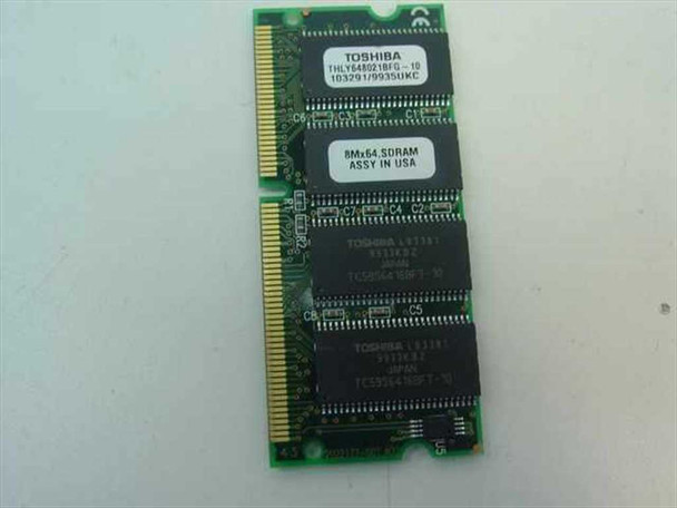 Toshiba THLY648021BFG-10 64MB RAM - Memory for Laptop / Notebook - VINTAGE