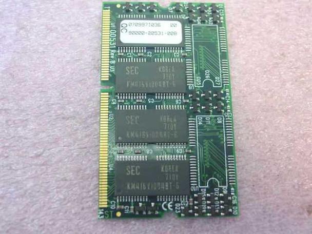 Toshiba 8MB Toshiba Laptop Memory PA2038U