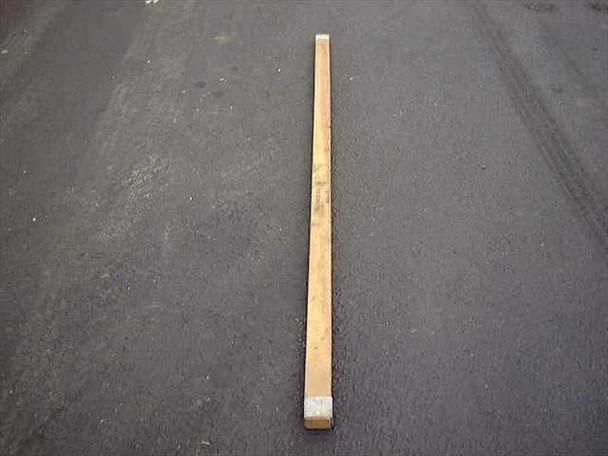 TU.S. Tucker Military Style Ridge Tent Pole 7' Long 2-1/2 x 1-1/2 w/ Metal Caps