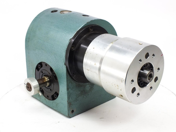 Heavy Duty Rotary Indexing Drive 120mm Head Dual Shafts 1018 BU-2AA-008-P01-0