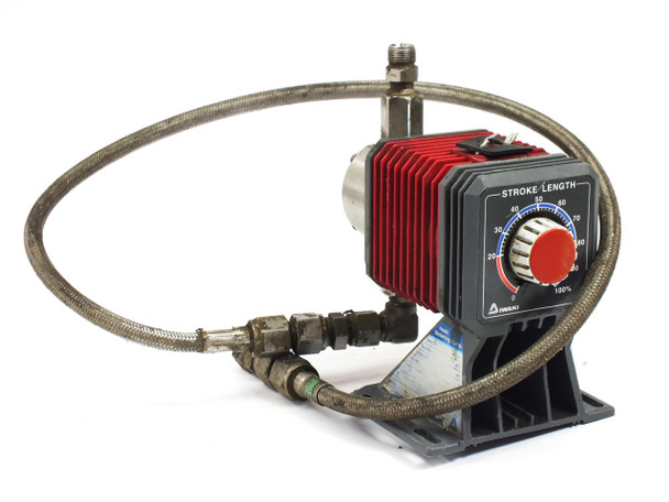 Iwaki EH-C20SH-200R9 200V 24W Metering Pump with 0~100% Stroke Length Adjustment