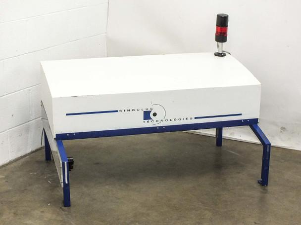 SLEE VLF/M 500/1000 HEPA Laminar Flow Hood Benchtop Airflow 40B2TX Blower 230VAC