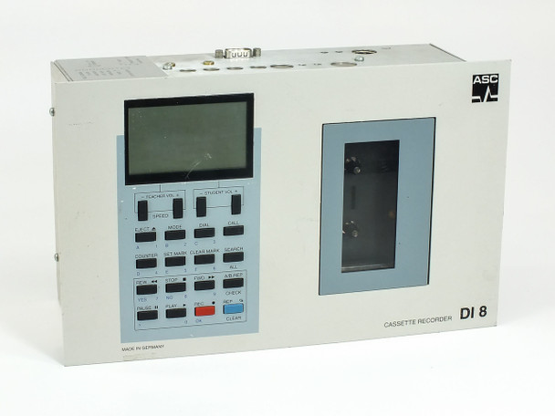 ASC DI 8 Classroom Cassette Recorder System SPRACHLEHR - No Power Supply
