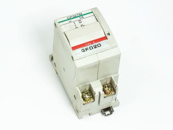 Fuji Electric CP32TM/1 1 Amp 2-Pole 220V Circuit Protector / Breaker CP32T-M001