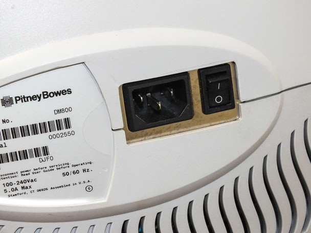 Pitney Bowes DM800 Digital Mailing System - NO IntelliLink Control Center -As Is