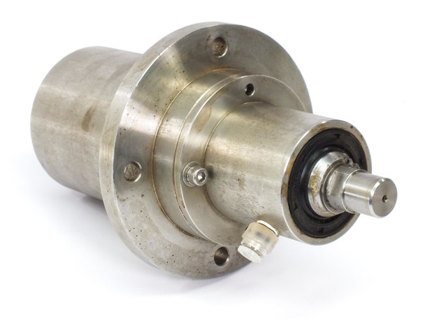 Stainless Steel Drive Cylinder with 18mm Shaft 130mm Mounting Ring 260mm Long without Key