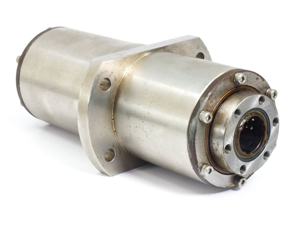 Stainless Steel Rotation Drive Cylinder 25mm Shaft Port 125mm Diam 220mm Long