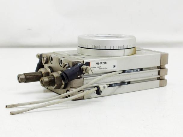 SMC Pnumatic Actuator Rotary Table Rack and Pinion Stage (MSQB20R)