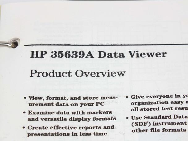 HP  Standard Data Format Utilities  User's Guide