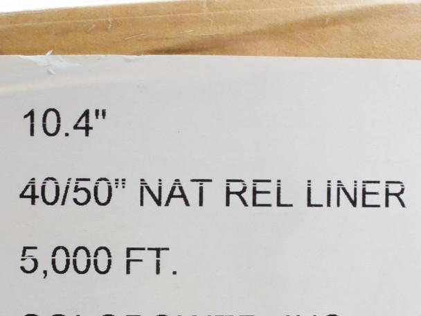 """I-Leaf Natural   10.5""""x5000' 40""""/50"""" Natural Rel Liner"""
