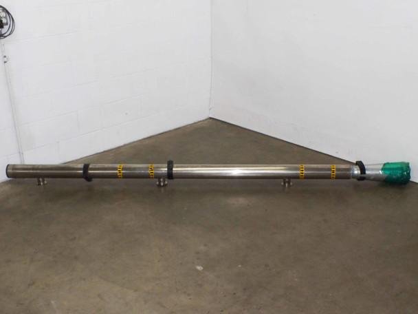 "Steel 4 Inch  Steel Manifold with 3 2"" Wide openings"