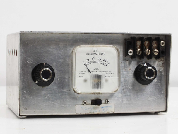 Electro-Mechanical Instrument Milliamp Meter in Aluminum Hobby Case RF21/4-2329