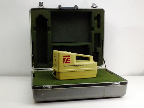 Thermo Environmental 580B Organic Vapor Meter Data Logger with Case