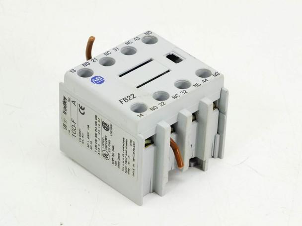 Allen-Bradley 100-FB22 Auxiliary Contactor Block