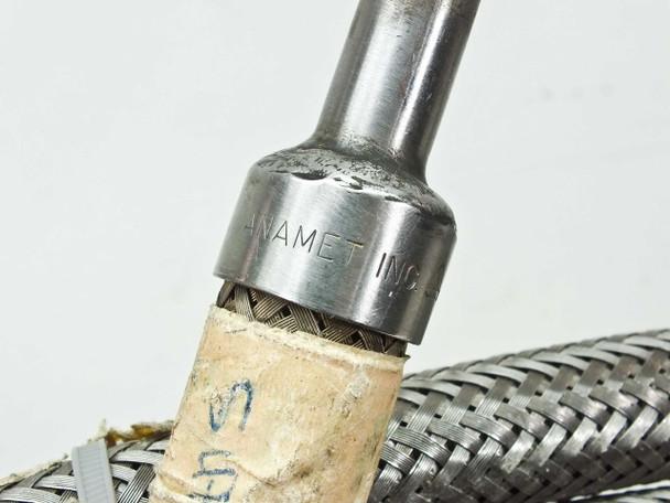CTI 8043074 Pair Of 10-Foot Cryopump Vacuum Compressor Lines w/ Elbow 5400-S5-8