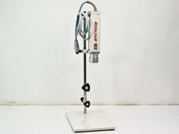 Kinematica Polytron PT-MR 2100 Benchtop Homogenizer w/ Stand 115 VAC - No Probe