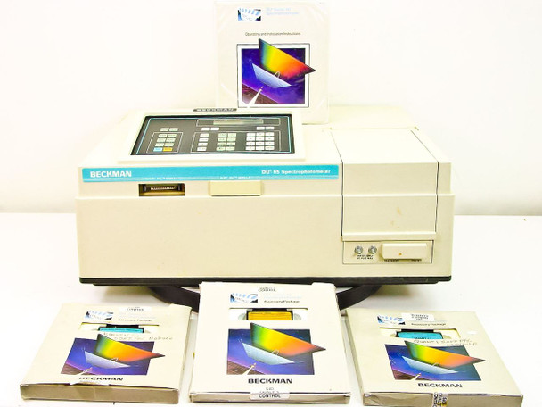 Beckman DU-65 UV-Visible Scanning Spectrophotometer -Doesn't Pass Self Test