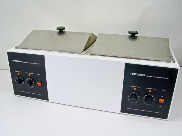 Precision Scientific 188 Dual Station Heated Water Bath - Right Side BAD - As Is